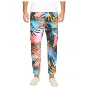 Just Cavalli Tie-Dye Palm Print Pants Multicolor