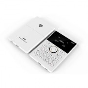 AIEK E1 (White) - 1.0 inch Quad Band Card Phone for Children Bluetooth FM Audio Player - White