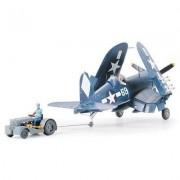 Maquette Avion : Vought F4u-1d Corsair W Moto-Tug-Tamiya