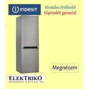Indesit LI8S1X alulfagyasztós hűtőszekrény , A+ energiaosztály