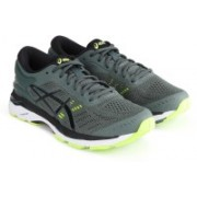 Asics GEL-KAYANO 24 Running Shoes For Men(Green)
