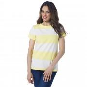 Isaac Mizrahi Live! T-shirt fantasia a righe in cotone stretch
