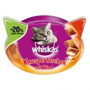 72 g Whiskas Temptations de pollo y queso snacks para gatos