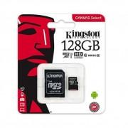 Kingston SDCS/128GB Tarjeta microSD de 128 GB