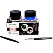 Music Flower Long Wear Gel Eye Liner(Black Blue) 3 g.