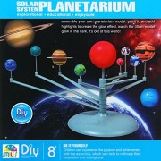 Smiles Creation Assembly Glow Solar System Planetarium Model Educational Toy For Kids