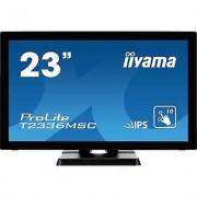 IIYAMA T2336MSC-B2 Touchscreen 58.4 cm (23 ) EEC: B (A+ - F) 1920 x...