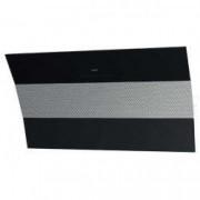 Hota decorativa Best Plana Black 80 cm putere de absorbtie 770 mc/h 1 motor 4 trepte de viteza Negru/Inox