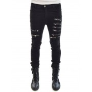 Army of Me Denim With Zippers Washed Black Army of Me