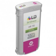 HP : Cartuccia Ink-Jet Compatibile ( Rif. HP 70 LM ( C9455A ) ) - Magenta_Light