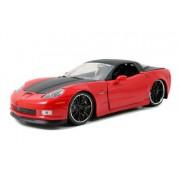 2006 Chevy Corvette Z06 1/24 Red w/ Black Rims