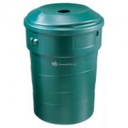 Nature Regenton cirkelvormig 180 liter groen
