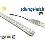 Bandeau LED de départ 50cm rigide 8W Blanc chaud 12V ref bl-14