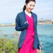 ミズノ 着る木陰 遮熱UVカーディガン【QVC】40代・50代レディースファッション