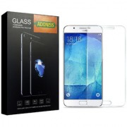 Adoniss 0.3mm Full Flexible Mobile Tempered Glass Protector (Pack of 1) for Samsung J7