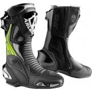 Arlen Ness Pro Shift 2 Motocyklové boty 42 Černá žlutá