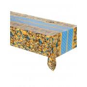 Deguisetoi Nappe en plastique lovely Minions 120 x 180 cm