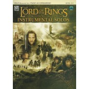 The Lord of the Rings Instrumental Solos for Strings: Cello (with Piano Acc.), Book & CD [With CD (Audio)], Paperback