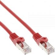 Cablu inline Patchcord SF/UTP Cat.5e, rosu 7.5m (72575R)