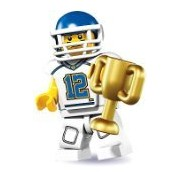 LEGO Minifigures Series 8 - Football Player