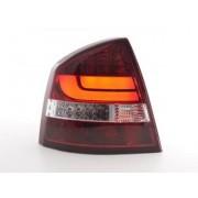 FK-Automotive feux arrière LED Skoda Octavia 1Z berline année 05-12 rouge/clair