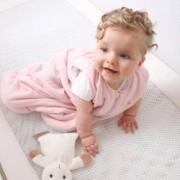 Sac de dormit PurFlo uni 3-9 luni 75 cm Culoare - Roz