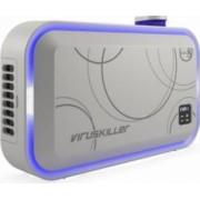 Purificator + Sterilizator de aer Radic8 VK Blue 95W filtru Hepa reactor cu 8 lampi UV Alb