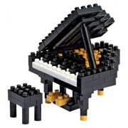 Music Sales Nanoblock: Grand Piano - Black