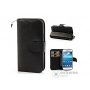 Husa din piele Gigapack pentru Samsung Galaxy S4 mini (GT-I9190), negru