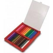 Melissa and Doug - Set 24 creioane colorate triunghiulare