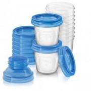 Комплект контейнери за съхранение на кърма, Philips Avent, 079968