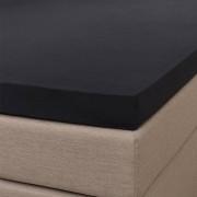 Signature Jersey Splittopper Hoeslaken - Signature - Zwart 180 x 200/210