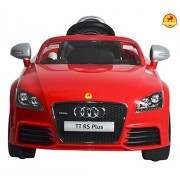 Baybee officially Licensed Audi TT RS Plus Battery Operated Sports Car with Remote Control, Red