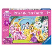 PUZZLE DISNEY PALACE PETS 35 PIESE - RAVENSBURGER (RVSPC08759)