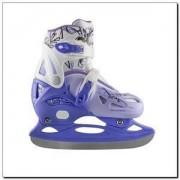 Łyżwy hokejowe Nils Extreme NH0320A - niebieskie