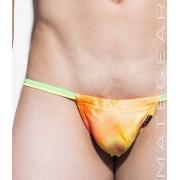 Mategear Hae Sang III Seamless Xpression Series Mini Bikini Swimwear Lime/Yellow 1370703