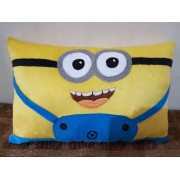 Cute Minion Plush Soft Toy Big Pillow with 3D Eyes Pillow Cushion - 20 Inch