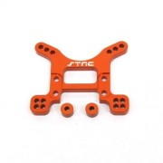 ST Racing Concepts STA80097FO Aluminum Heavy Duty Front Shock Tower for The Exo Buggy, Orange