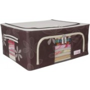 BlushBees Living Box - Storage Boxes for Clothes, Saree Cover Bags Pack of 1, Brown(Brown)