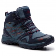 The North Face Trekking-skor THE NORTH FACE - Hedgehog Fastpack Mid Gtx (Eu) GORE-TEX T93FXIC2Y China Blue/Peacoat Navy
