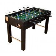 Stolik piłkarski Kicker Black Edition 121x61x79 cm