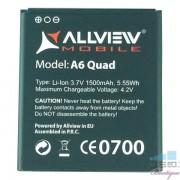 Baterie Acumulator Allview A6 Quad Original Li-Ion 4.2V 1500 mAh 5.55Wh