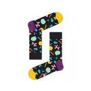 Happy Socks-Sokken-Balloon Animal Socks-Zwart