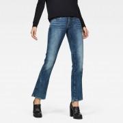 G-Star RAW Midge Saddle Mid Waist Skinny Bootcut Jeans