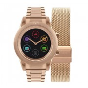 Relógio Smartwatch Technos Connect Duo Rose Feminino P01AE/4P
