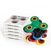 ABS Hand Tri-Spinner Fidget Toy EDC Austism ADHD Toys High Quality Killing Time Focus Anti Stress Finger Spin Sensory Toy Cube