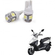 Auto Addict Scooty T10 5 SMD Headlight LED Bulb for Headlights Parking Light Number Plate Light Indicator Light For Indus Yo Edge