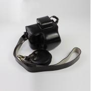 NIKON Z50 Luxury Version with Battery Hole Camera Leather Case - Black