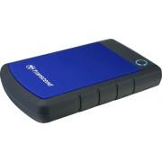 """Transcend »StoreJet 25H3B« externe HDD-Festplatte 2,5"""" (1 TB) 90 MB/S Lesegeschwindigkeit)"""