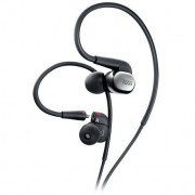 Casti In-Ear/ Behind the Ear AKG N40, 3-button mic/remote, cablu detasabil, Silver